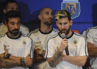 Messi anuncia el divorcio de Argentina con la prensa