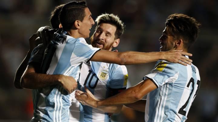 Argentina tiene un 74,1% de probabilidades de ir al Mundial