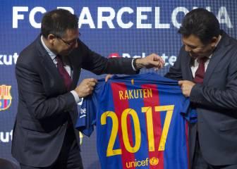 Oficial: Rakuten patrocinará al Barça hasta 2021 por 220M€