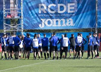Los atacantes acaparan el remate del Espanyol