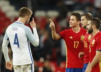 Los fans del United se mofan de la 'amenaza' de Dier a Herrera
