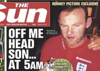 Caso Rooney: la FA prohíbe salir de noche a los jugadores