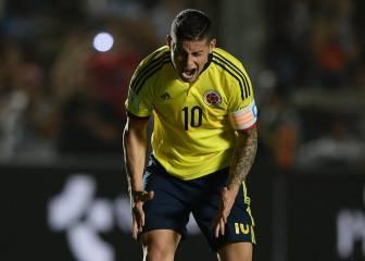El entrenador de Ecuador arremete contra James Rodríguez