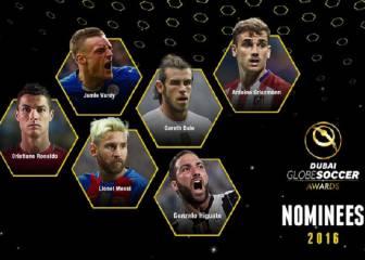 Messi, Cristiano y Griezmann: favoritos para el Globe Soccer