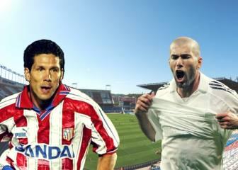 Zidane vs Simeone: sólo un Atlético-Madrid como jugadores