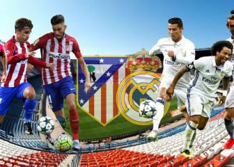 Atleti-Real Madrid: 6 duelos para la gran batalla en el Calderón