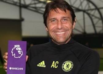 Hazard y Conte, mejor jugador y mejor técnico de octubre