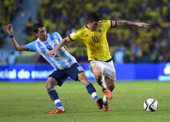 Di María podría fichar por el Inter si James acaba en el PSG