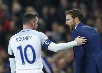 Rooney desobedeció a Southgate la noche de la 'borrachera'