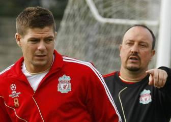Benítez habló del posible fichaje de Gerrard por el Newcastle