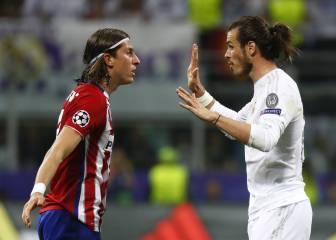 Filipe y Bale, los imprescindibles de Simeone y Zidane