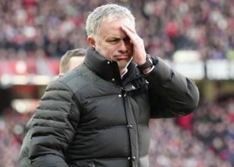 Mourinho: 'Siento que perdimos, hoy De Gea tuvo vacaciones'