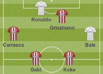 Siete del Atlético y cuatro del Madrid en el once de L'Èquipe