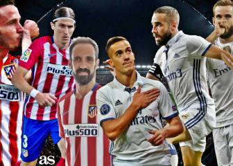 Empate a canteranos madridistas: Atleti 3 - Madrid 3