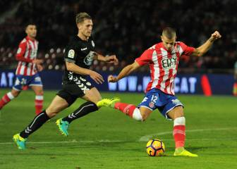 Borja García pone segundo al Girona con un doblete