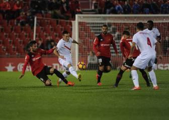 El Mallorca sobrevive a un 0-2