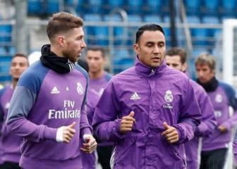Ramos y Benzema, listos para el Sporting de Portugal