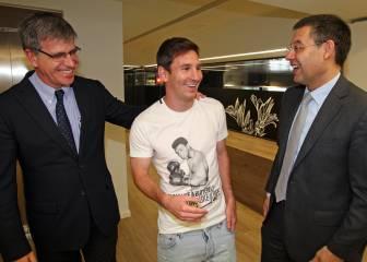 Messi mantiene el plan: tras el Clásico hablará de renovación