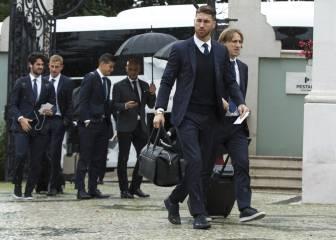 Ramos regresa a Lisboa: