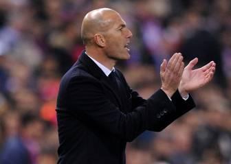 Desde marzo Zidane saca 15 puntos a Barça y Atlético