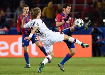 Un gol de Natcho complica la clasificación al Leverkusen