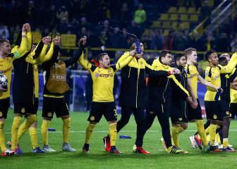 El Dortmund se impone al Legia en el festival del gol