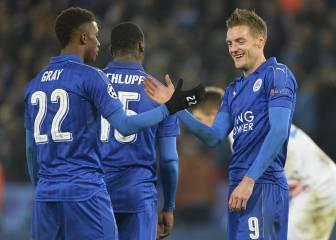 El Leicester gana al Brujas y pasa octavos primero de grupo
