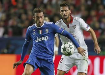 Marchisio acaba con la imbatibilidad del Sevilla