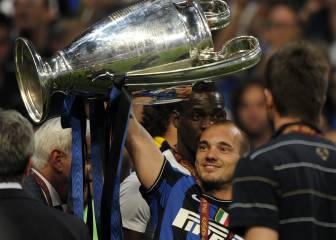Sneijder incendia a la afición del Inter con su amor al Milán