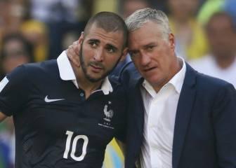 Deschamps abre la puerta de la selección de Francia a Benzema