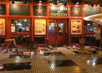 LaLiga medita denunciar a los ultras del Sevilla ante la Policía