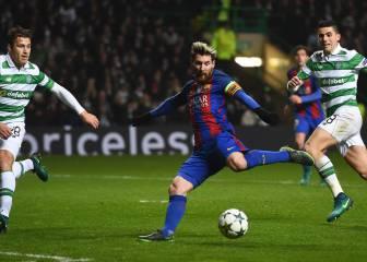Celtic-Barcelona en imágenes
