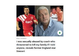 Un exjugador inglés tomó drogas tras sufrir abusos sexuales