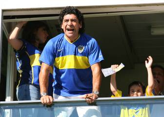 Maradona quiere que Argentina juegue en la Bombonera