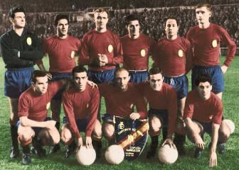 23 de noviembre de 1961: Marcelino debuta con España