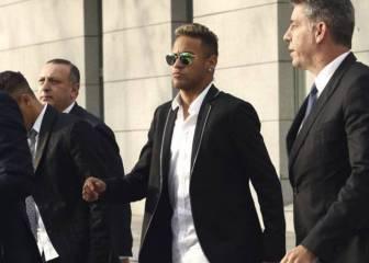 DIS pide cinco años de cárcel para Neymar; la Fiscalía, dos