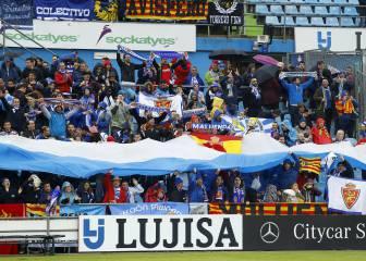 El Zaragoza deja sin entradas a las peñas de la pelea en Getafe