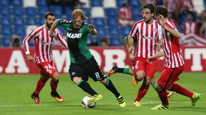 Horario, cómo y dónde ver en TV y en directo online el Athletic-Sassuolo de la jornada 5 de la fase de grupos de la Europa League en San Mamés.