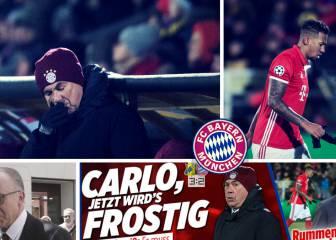 La prensa alemana no tiene compasión del Bayern Munich