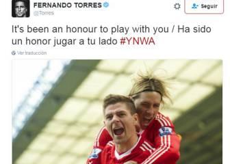 El mundo del fútbol se vuelca en la retirada de Gerrard