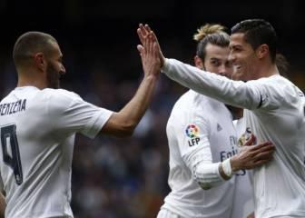 El Madrid gana más y encaja menos sin la BBC al completo