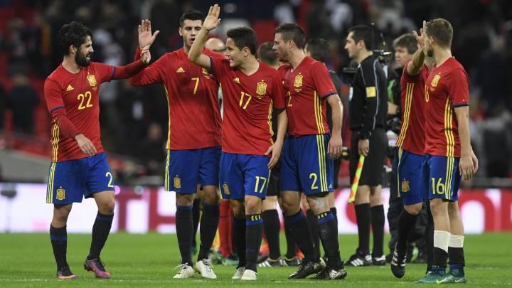 España se mantiene décima y Argentina sigue líder