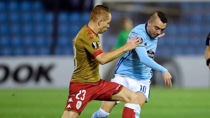 Retransmisión en directo del partido de Europa Liga entre Celta de Vigo y Standard Lieja.