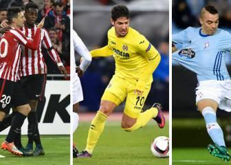 El Athletic, clasificado; Celta y Villarreal se complican el pase