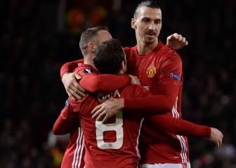 El Manchester de Mourinho reacciona en la Europa League