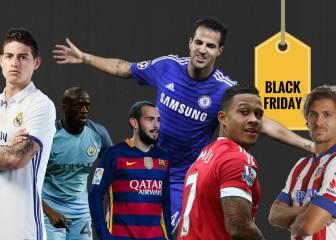 Los chollos y oportunidades del 'Black Friday' en el fútbol