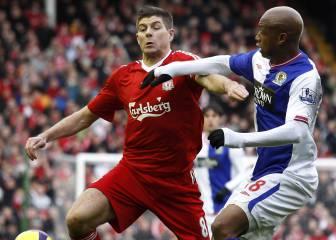 Riise defiende a Gerrard tras el duro ataque de El Hadji Diouf