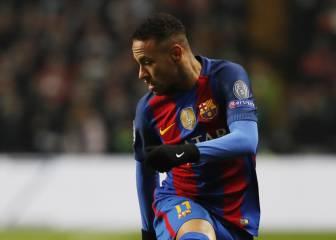 Neymar vive su peor momento goleador en el Barcelona