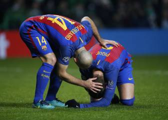 Mundo Deportivo: Piqué no se ejercitó con el equipo