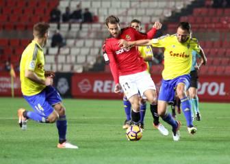 El Nàstic escapa del fondo de Segunda con un gol de Uche